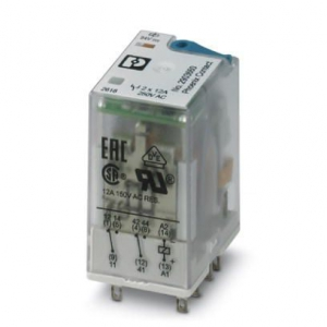 Single relay - REL-IR2/LDP- 24DC/2X21 - 2903660 - Phoenix contact